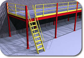 Mezzanine Equipment Platforms Galvanized Mezzanine Platform