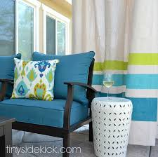 Patio Curtains Outdoor To Make An Outdoor Curtain Rod For Money
