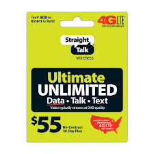 E Unlimited Home Design by Straight Talk 55 Ultimate Unlimited 30 Day Plan Walmart Com