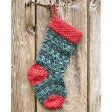 knitting pattern for christmas stocking free valley yarns 283 spotted christmas stocking free at webs yarn com