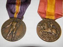 medals for german italian volontaries