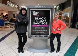 malls gear up for canadian black friday