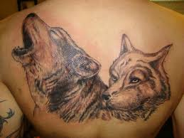 back wolf tattoo by animated world tattoo