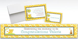lion king baby shower custom lion king baby shower invitations thank you notes party