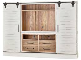 Cabinet With Sliding Doors Bramble Home Entertainment Sonoma Entertainment Cabinet With