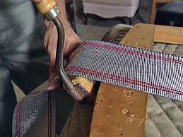 Where To Buy Upholstery Webbing How To Reupholster A Seat Pad How Tos Diy