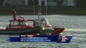 9 children 3 adults rescued after boat overturns in cape cod canal