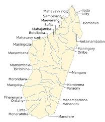 Map Of United States With Rivers Labeled by List Of Rivers Of Madagascar Wikipedia