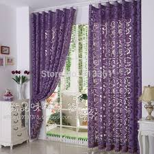 Lavender Window Curtains Fantastic Lavender Window Curtains Decorating With Aliexpress Buy