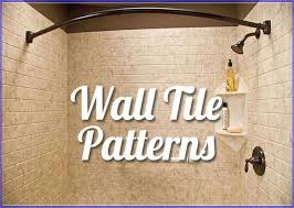 unique shower wall tile designs
