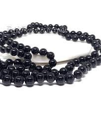 black necklace stone images Black onyx bead necklace long black stone necklace long black jpg