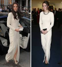 Evening Wedding Dresses Kate Middleton Recycles Jenny Packham Evening Gown With Queen U0027s
