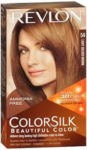 light golden brown hair color revlon colorsilk with 3d technology 5g light golden brown hair color