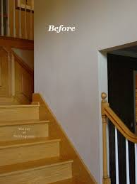 Wainscoting On Stairs Ideas Before Oak Wainscoting Stairs 1 Jpg 570 760 Architecture Ideas
