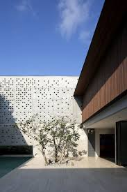 Flat Roof Modern House Architecture Conrete Wall In What Is Gorgeous Contemporary House