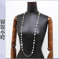 pearl necklace costume images Kaitorikomachi rakuten global market chanel cc mark costume jpg