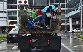 storm victims take shelter at houston u0027s convention center