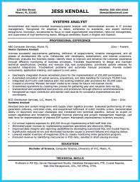system analyst resume cover letter sle system analyst resume system analyst resume