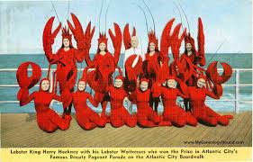 city new jersey hackney s sea food restaurant vintage postcard