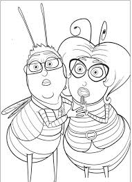 the bee movie coloring page coloring pages and printables