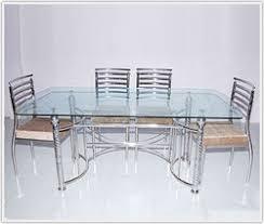 steel dining table set steel dining table in thane maharashtra steel ki khana khane wali