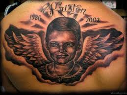 60 most amazing memorial tattoos for back