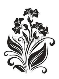 flowers ornament illustration royalty free cliparts vectors