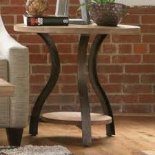 Wood Round End Table Round Wood End Table Foter