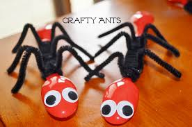 ant spoons spring bug craft for kids surviving a teacher u0027s salary