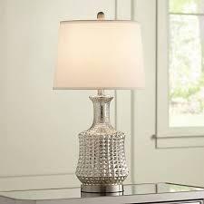 Mercury Glass Table Lamp Jody Long Neck Mercury Glass Table Lamp 8j938 Lamps Plus