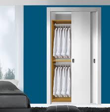 isa custom closet double hanging clothes closet system