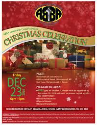 annual christmas gift program abba leadership center
