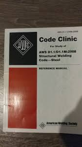 aws d1 1 structural welding code steel reference manual aws
