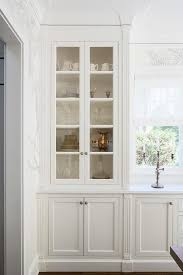 buffet cabinet with glass doors kitchen dining room built in buffet cabinet glass front kitchen