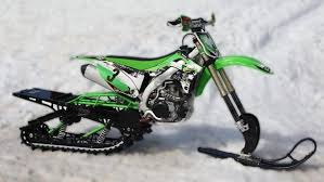 snow machines timbersled s mountain kit converts motorbikes into snow machines