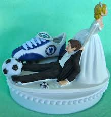 wedding cake chelsea wedding cake topper chelsea football club fc soccer themed
