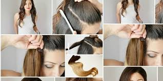 how to ambray hair cute ombre hair extension step by step b g fashion