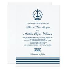 nautical themed wedding invitations nautical theme wedding menu cards zazzle