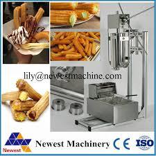 fabricant cuisine espagnole électrique automatique machine à churros acier inoxydable churros