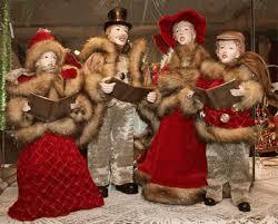 caroler figures dickens carolers family