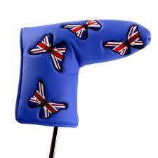 Flag Of Cameron Golf Putter Covers Für Golf Scotty Cameron Putter Uk Flag
