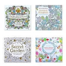 aliexpress buy 4pcs english edition secret garden fantasy