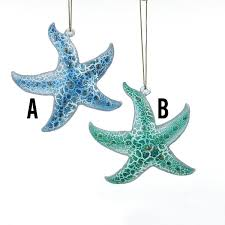 country marketplace glass starfish ornaments 12 00 http www