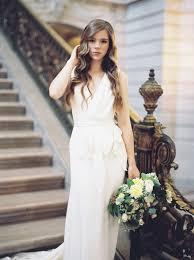 Civil Wedding Dress Dreamy Civil Wedding Inspiration In San Francisco City Hall