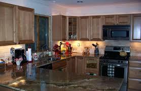 covering kitchen tile backsplash cover up tile oak cabinets to