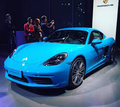 blue porsche 2017 official 2017 porsche 718 cayman u0026 cayman s germancarforum