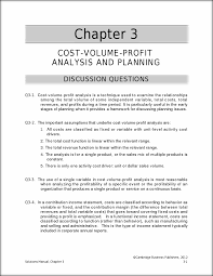 ma6e solutions manual ch 03 033111 chapter 3 cost volume profit