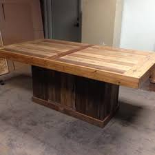Quill Conference Table Custom Display Cabinet With Casters By Urban Mining Company