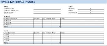 material invoice template free denryoku info