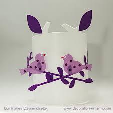 applique chambre enfant applique murale fille oiseau violet et parme pour chambre enfant